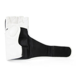 Black and White mma gloves manufacturer