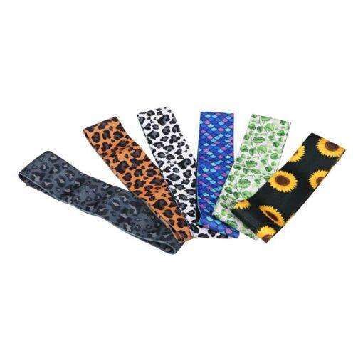 Custom Printed Fabric Resistance bands UK