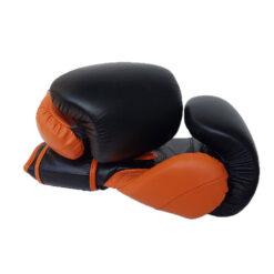 Custom Logo Leather Boxing Gloves