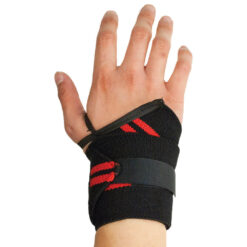 Custom weightlifting wrist wraps