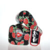 Flower Printed Boxing Gloves