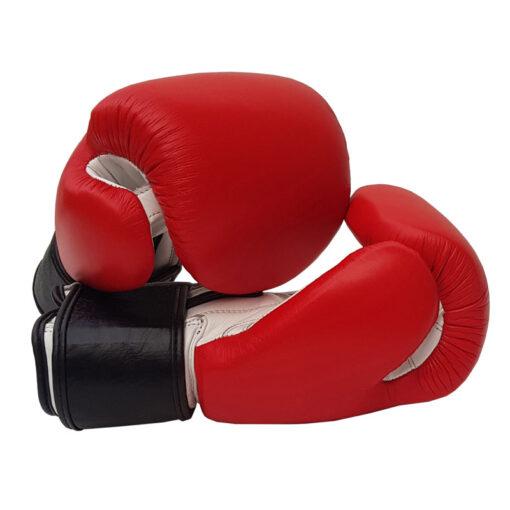 Red White Boxing Gloves