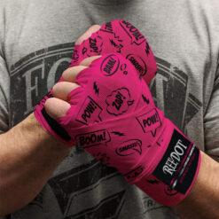 custom printed boxing hand wraps